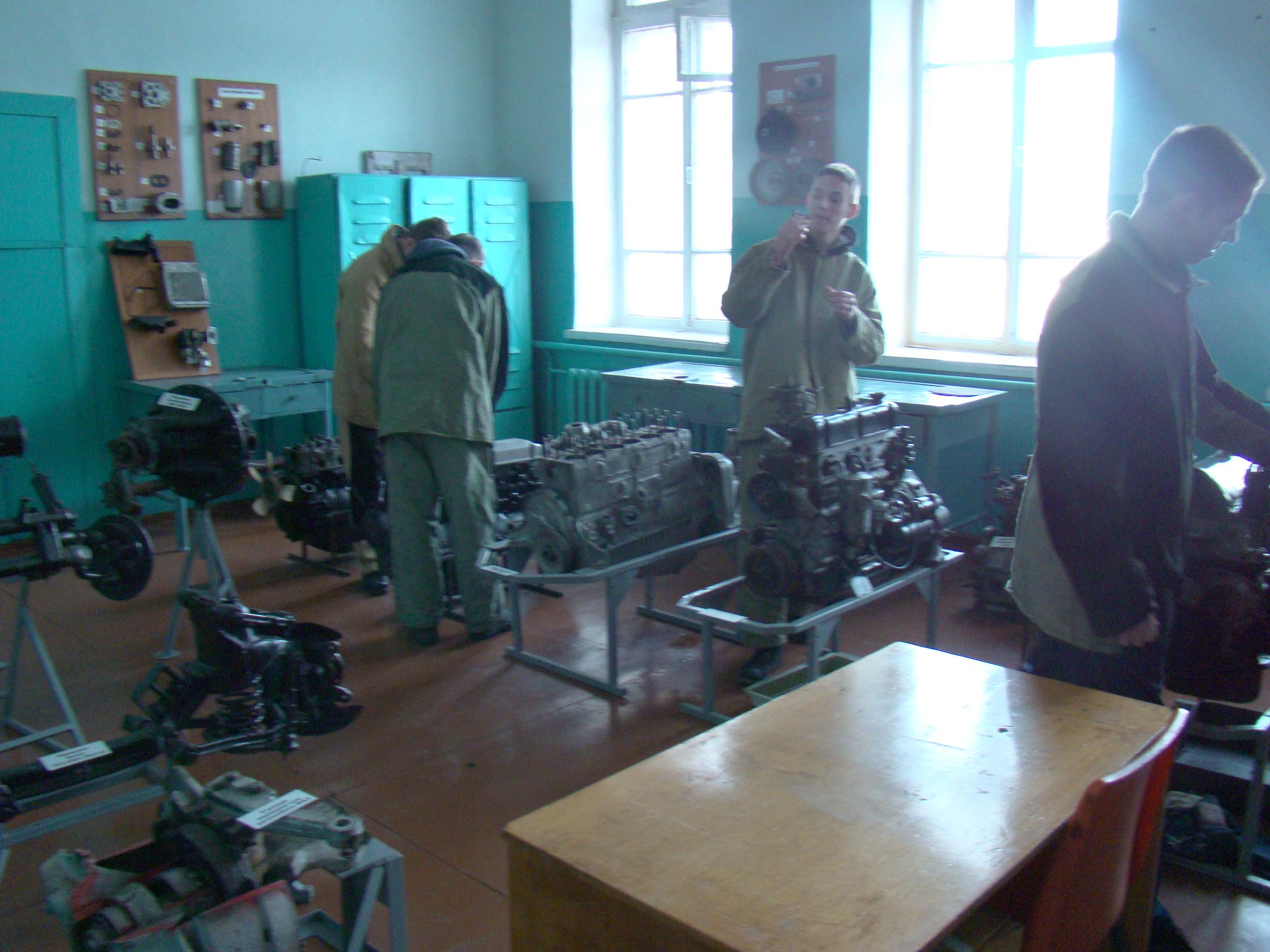 УП лаборатория двигателей